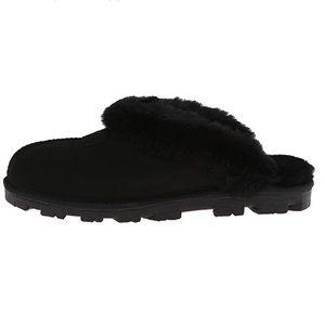 NEW Ugg Australia Black Coquette Slippers